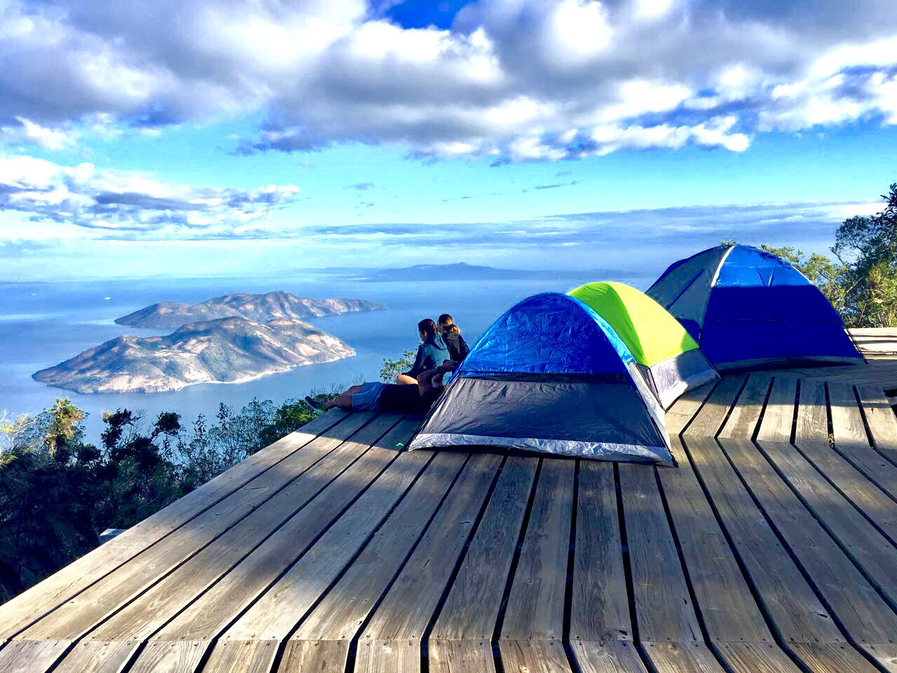 Resultado de imagen para acampar en volcan de conchagua